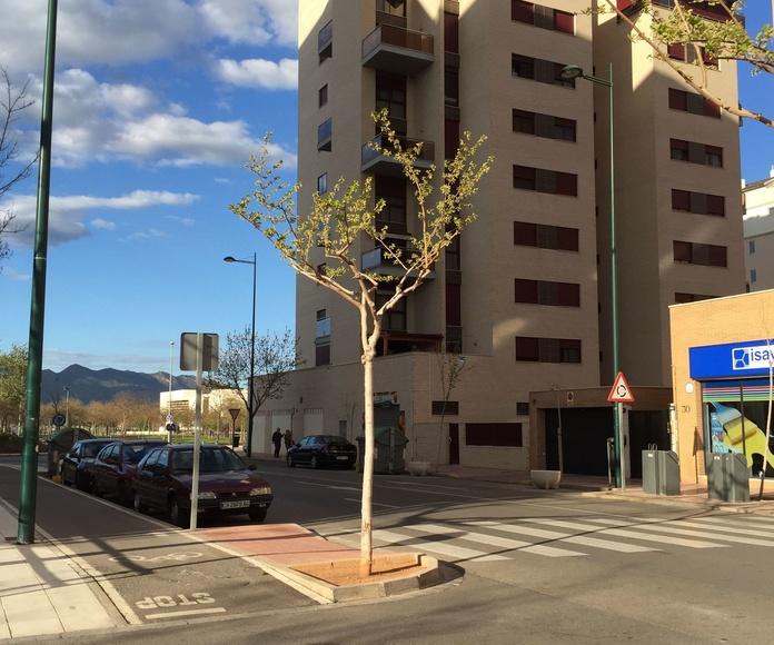 Edificio Viviendas Parque Auditorio. Castellón. Cristina Fortanet. Arquitecto