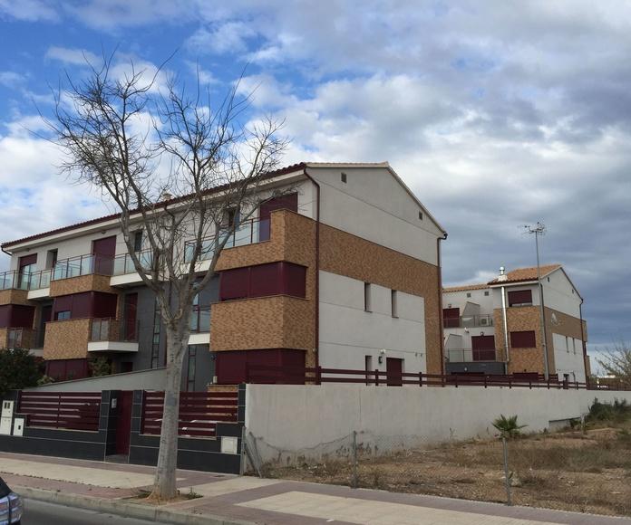 Viviendas en Hilera Pau Lledo. Cristina Fortanet. Arquitecto